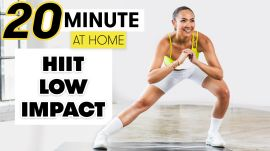 20-Minute Low Impact Full Body HIIT Workout