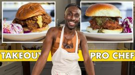 Pro Chef Tries To Make A Fried Chicken Sandwich Faster Than Delivery
