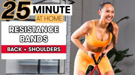 25-Minute Low-Impact Resistance Band Workout for Back and Shoulders