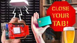 Bar Owner Builds an Alarm That Stops You From Forgetting Your Credit Card
