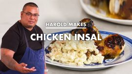 Harold Makes Grilled Chicken Inasal