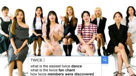 TWICE Answer the Web's Most Searched Questions