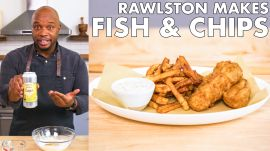 Rawlston Makes Fish And Chips