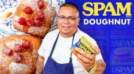 Harold Makes Spam Doughnuts