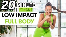 20-Minute Low-Impact Full-Body Strength Workout