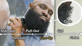 How to Shape Up Your Curly Beard (6 Step Tutorial)