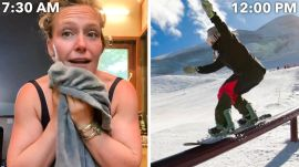 A Snowboarder's Entire Routine, from Waking Up to Hitting The Slopes