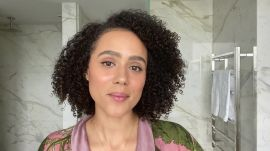 Nathalie Emmanuel's Guide to Natural Hair Care and Healing Breakouts
