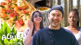 Brad Makes Pizza With Foraged Ramps
