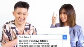 Rich Brian and NIKI Answer the Web's Most Searched Questions
