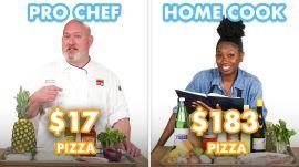 $183 vs $17 Pizza: Pro Chef & Home Cook Swap Ingredients