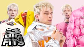 Machine Gun Kelly Shows Off 3 Insane Outfits From His Wardrobe