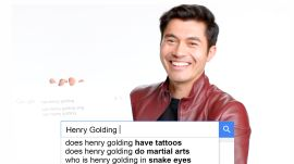 Henry Golding Answers the Web's Most Searched Questions