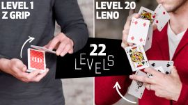 22 Levels of Cardistry: Easy to Complex