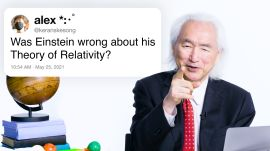 Dr. Michio Kaku Answers Physics Questions From Twitter