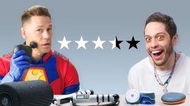 John Cena & Pete Davidson Test Workout Gadgets