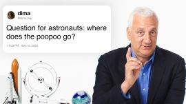 Former NASA Astronaut Answers Space Questions From Twitter