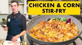 Chris Makes Chicken Stir-Fry