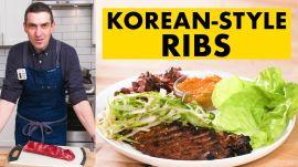 Chris Makes Korean-Style Short Ribs