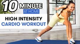 10-Minute Low Impact High Intensity Cardio Workout