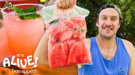 Brad Makes Fermented Watermelon Cocktails