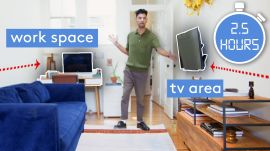2.5 Hour NYC Living Room Makeover By Pro Designer
