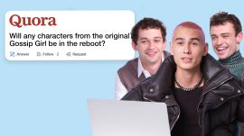'Gossip Girl' Cast Goes Undercover on YouTube, Twitter and Instagram