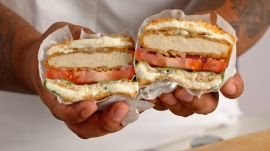 My Favorite Meal: Unkle Harold's Chick'n Sandwich