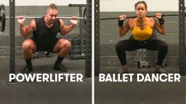 Ballet Dancers Try to Keep Up With Powerlifters