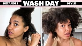 My 5-Step Wash Day Routine For Detangling and Dermatitis