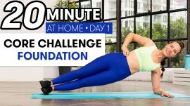 20-Minute Core Strength Workout - Challenge Day 1