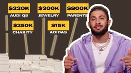 How Fernando Tatís Jr. Spent His First $1M+ in MLB