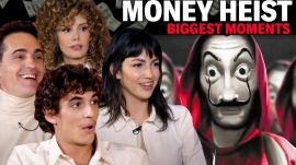 The Cast of 'Money Heist' Breaks Down the Show's Biggest Moments