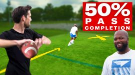 Can an Average Guy Throw 50% NFL Pass Completion?