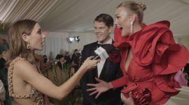 Karlie Kloss on Her Rose-Inspired Met Look
