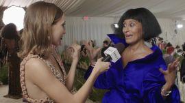 Tracee Ellis Ross Gives Met Gala Advice