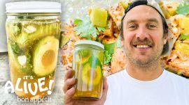 Brad Makes Pickled Avocado