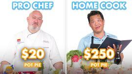 $250 vs $20 Pot Pie: Pro Chef & Home Cook Swap Ingredients
