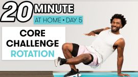 20-Minute Core Strength & Rotation Workout - Challenge Day 5