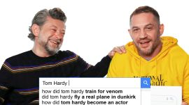 Tom Hardy & Andy Serkis Answer the Web's Most Searched Questions