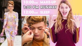 Model's Daily Routine 1 Week Before a Big Fashion Show