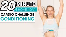 20-Minute Cardio Conditioning - Challenge Day 1