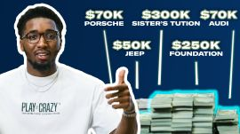 How Donovan Mitchell Spent His First $1M in the NBA | My First Million