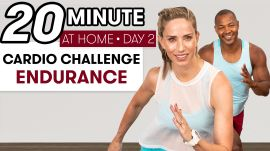 20-Minute Cardio Endurance Workout - Challenge Day 2