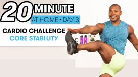 20-Minute Cardio & Core Stability Workout - Challenge Day 3