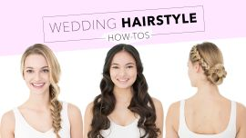 Wedding Hairstyle How-Tos