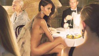 Supermodel nude strip please the