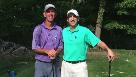 The Grind: 18 holes with the most avid golfer in the WORLD