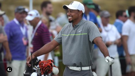 Welcome back, Tiger!