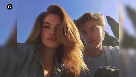 Supermodel Lucky Blue Smith is dating a PGA Tour caddie's daughter